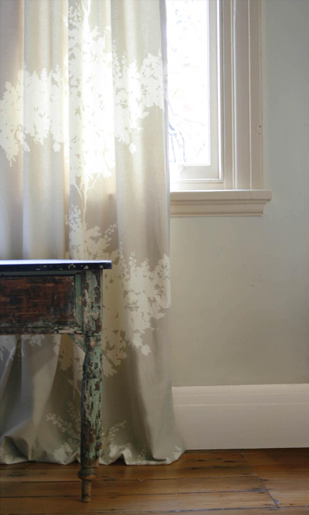 Cloth-fabric-wattle-curtain